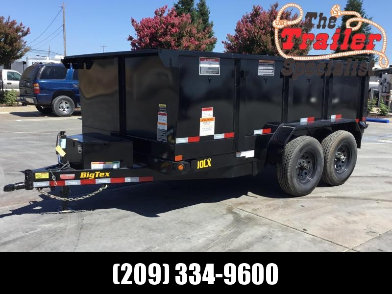 New 2020 Big Tex 10LX-12P3 Dump Trailer 7x12 10k