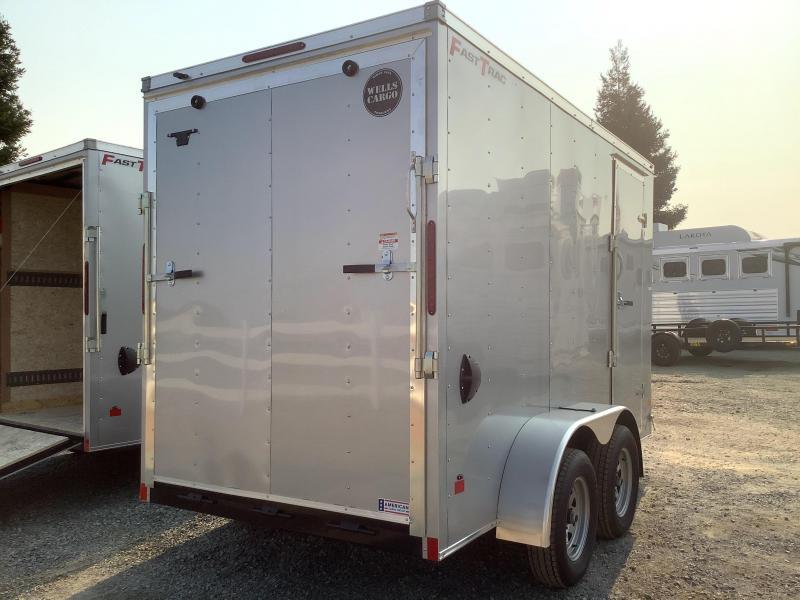 NEW 2022 Wells Cargo Fast Trac 6 x 12 7k GVW Enclosed Cargo Trailer