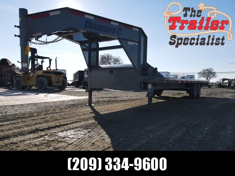 "2021 Diamond C Trailers DEC208-L 24' x 103"" Equipment Trailer"