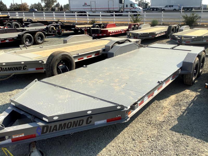 NEW 2021 Diamond C Trailers LPX207L 7' x 20' 14900 GVW Equipment Trailer