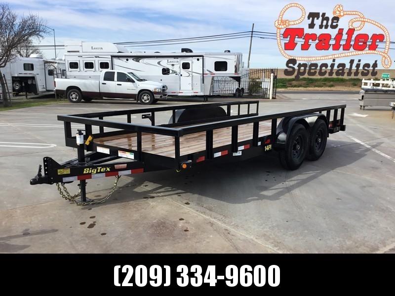 New 2021 Big Tex Trailers 14PI-18 7' x 18' 14K Equipment Trailer