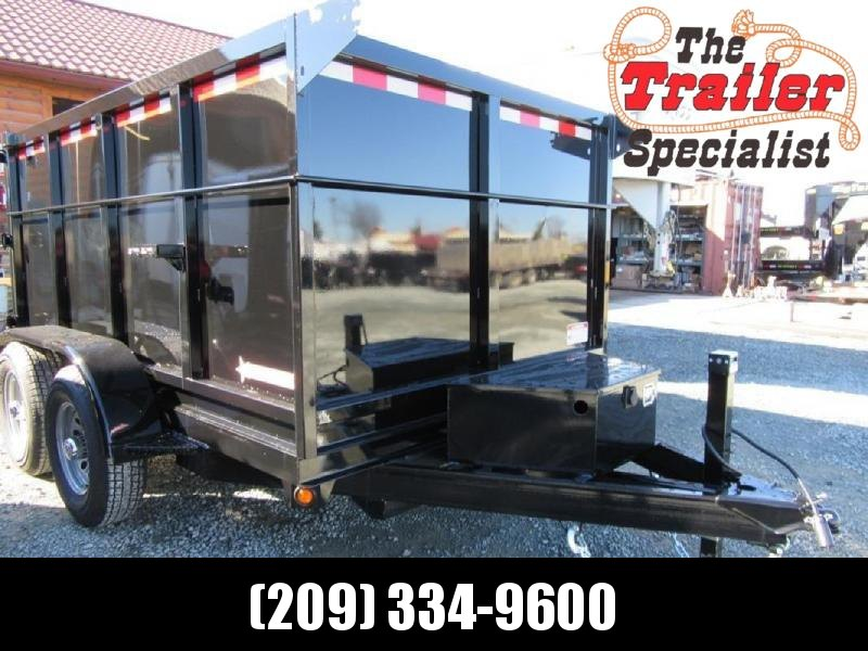 New 2021 Five Star DT260 6x12 7k Dump Trailer 4' Sides