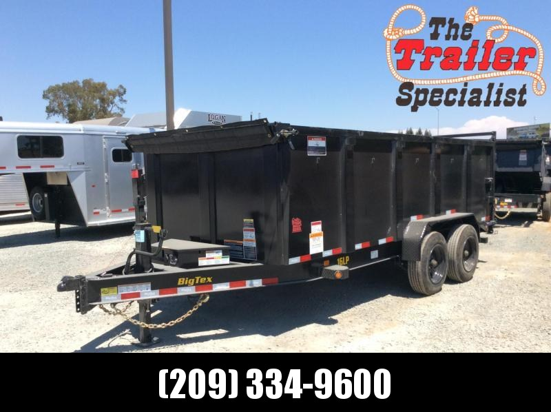 2020 Big Tex Trailers 16LP-16P4 Dump Trailer 7x16 17.4K GVW