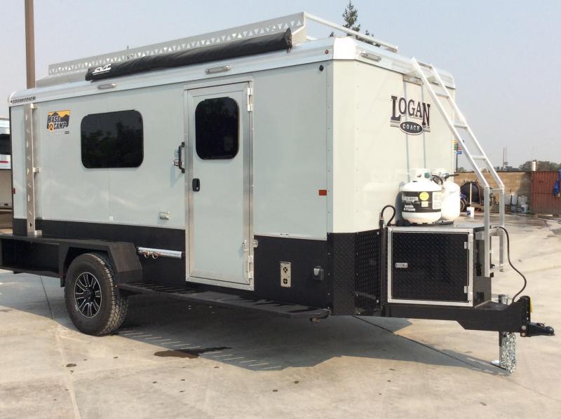 NEW 2020 Logan Coach Base Camp 15 ft BP EXP Enclosed Cargo Trailer