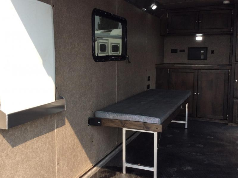 NEW 2020 Logan Coach Base Camp 15 ft BP EXP Enclosed Cargo Trailer