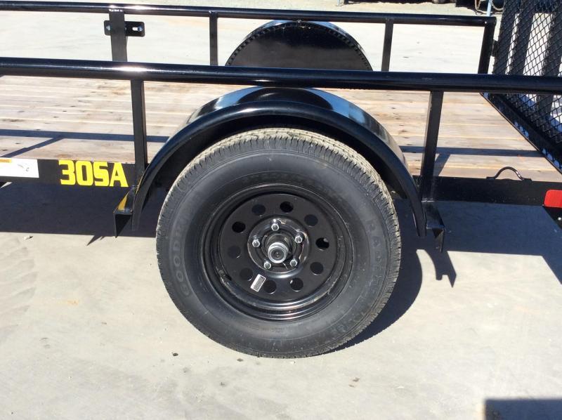New 2019 Big Tex 30SA-08 5X8 Utility Trailer