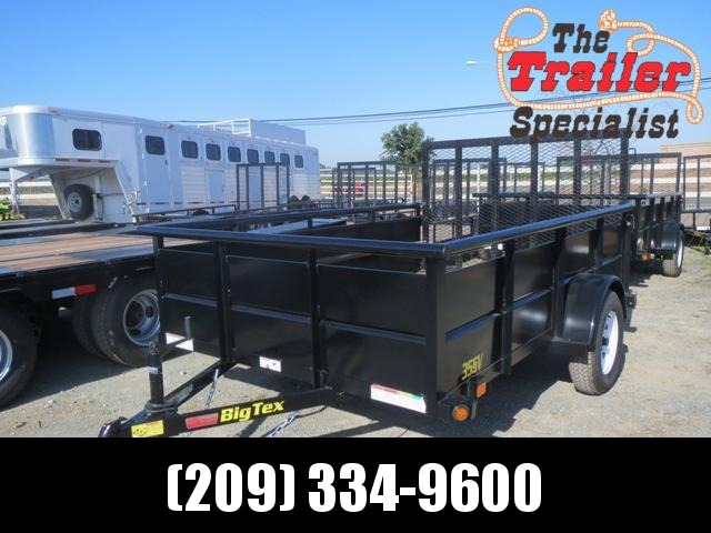 NEW 2021 Big Tex Trailers 35SV-12 6.5x12 2995 lbs GVWR Utility Trailer