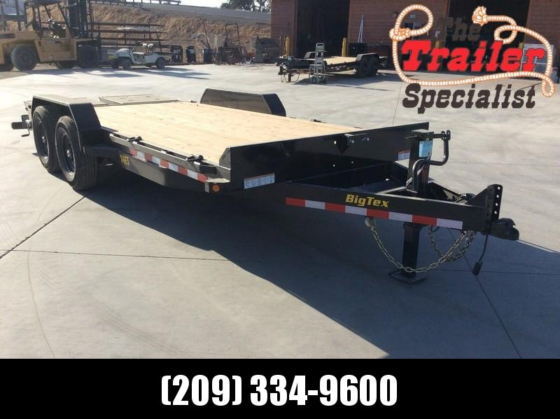 NEW 2021 Big Tex 14ET-18MR 7x18 14K GVW Equipment Trailer