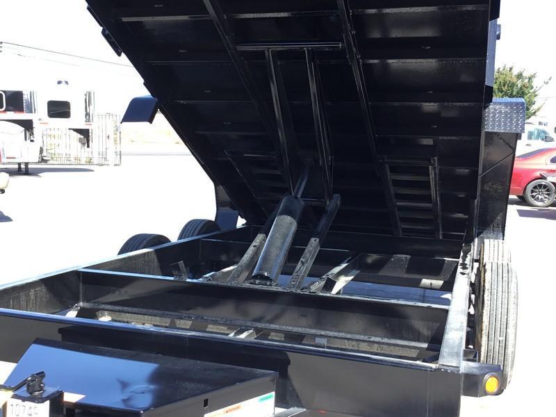 New 2020 Big Tex 16LX-14P4 17.5K GVW 7x14 4' sides Dump Trailer