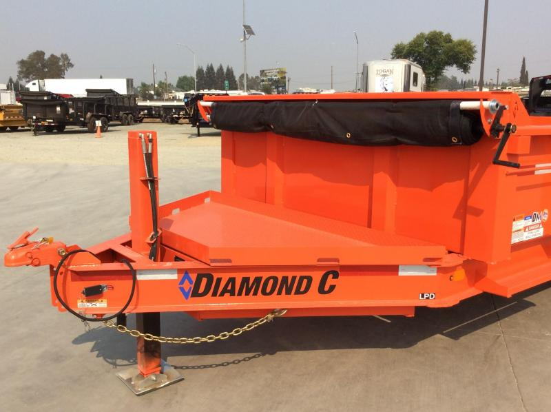 2021 Diamond C Trailers LPD207L14x82 14k Dump Trailer