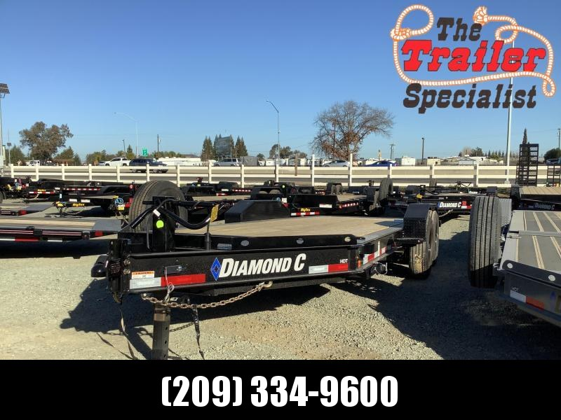 "NEW 2021 Diamond C Trailers HDT207-L 18' X 82"" Equipment Trailer"