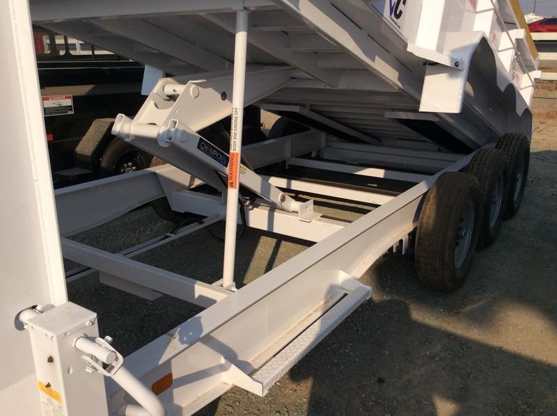 NEW 2021 Diamond C Trailers 7x16 24K GVWR LPD307 Dump Trailer