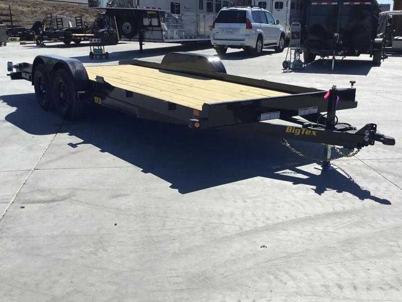 NEW 2022 Big Tex Trailers 10CH-20DT 7' x 20 9990 GVW Car / Racing Trailer