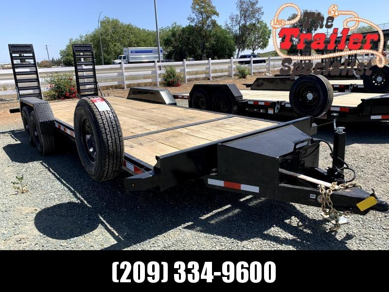 "NEW 2021 Midsota NOVA ET8222 82"" x 22' 15400k GVW Equipment Trailer"
