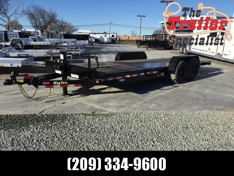 """NEW 2021 Big Tex 14TL-22 80"""" x 22' 14K GVW Tilt Equipment Trailer"""