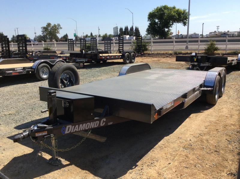 "NEW 2020 Diamond C Trailers GSF235L L 20ft x 83"" Car / Racing Trailer"