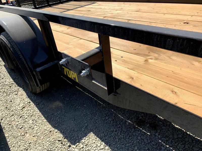 NEW 2021 Big Tex Trailers 70PI-16 7' x 16' 7k GVW Utility Trailer