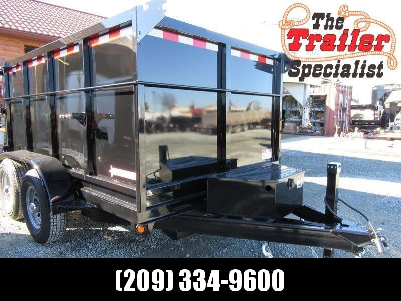 New 2021 Five Star DT259 10K GVW 6x10 Dump Trailer