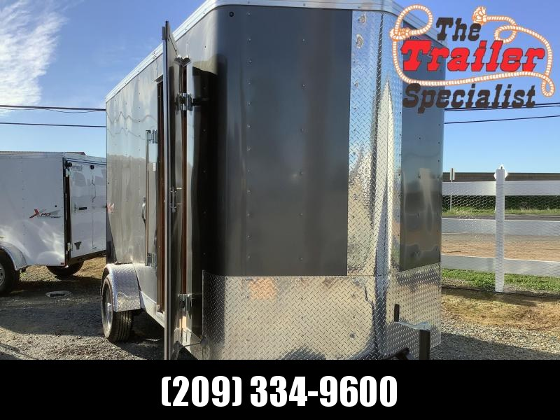 NEW 2021 Mirage Trailers XPRES 6 x 12 SA 2990 GVW Enclosed Cargo Trailer