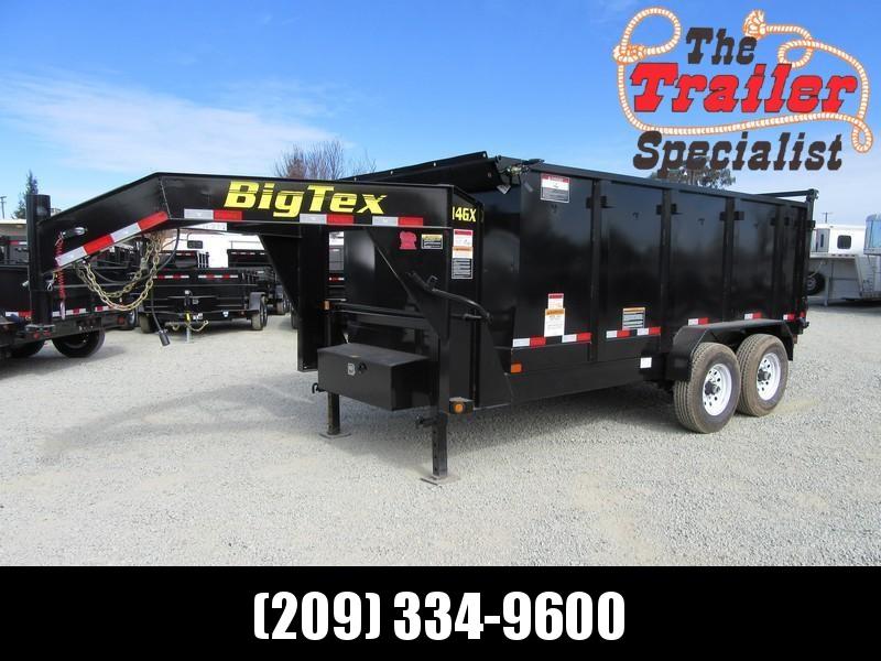 New 2021 Big Tex 14GX-14P4 7x14 GN 14K GVW Dump Trailer