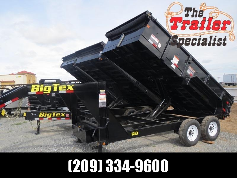 New 2020 Big Tex 14GX-14 Dump Trailer 7X14 14K