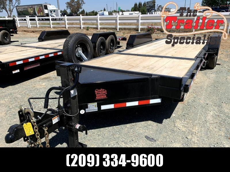 NEW 2021 Midsota TB-22 7' x 22' 15400 GVW Equipment Trailer