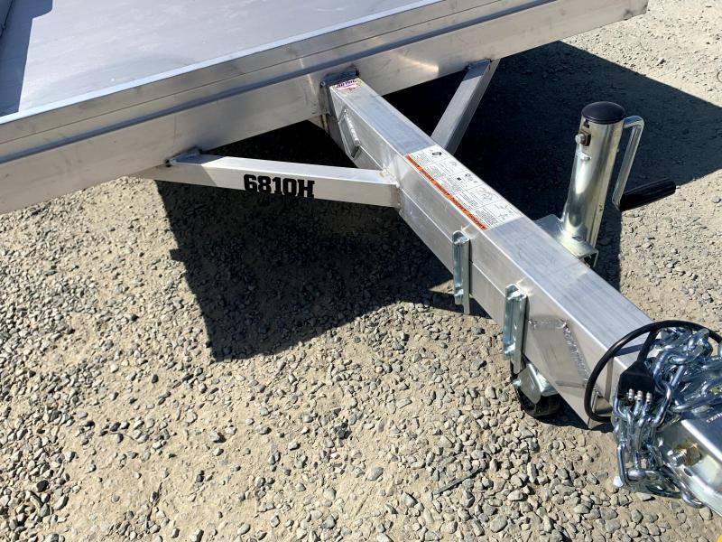 NEW 2022 Aluma 6810H-S-TG 2,990 lbs GVWR Utility Trailer