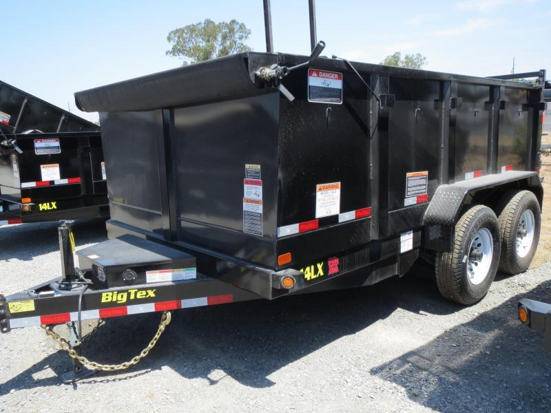 NEW 2020 Big Tex 14LX-12P3 7x12 3' sides Dump Trailer 14K