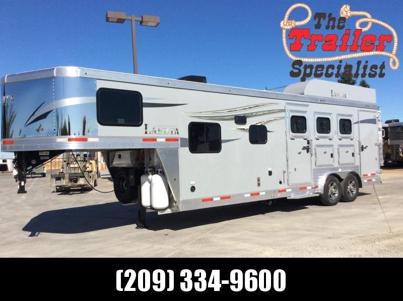 2021 Lakota C839SR 3 Horse Trailer 9' Living Quarters
