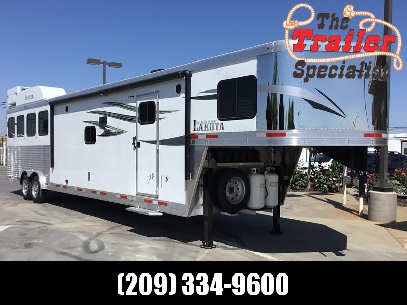 *ON ORDER* NEW 2021 Lakota C8415SR Charger 4 Horse 15' Living Quarters 8' Wide Horse Trailer