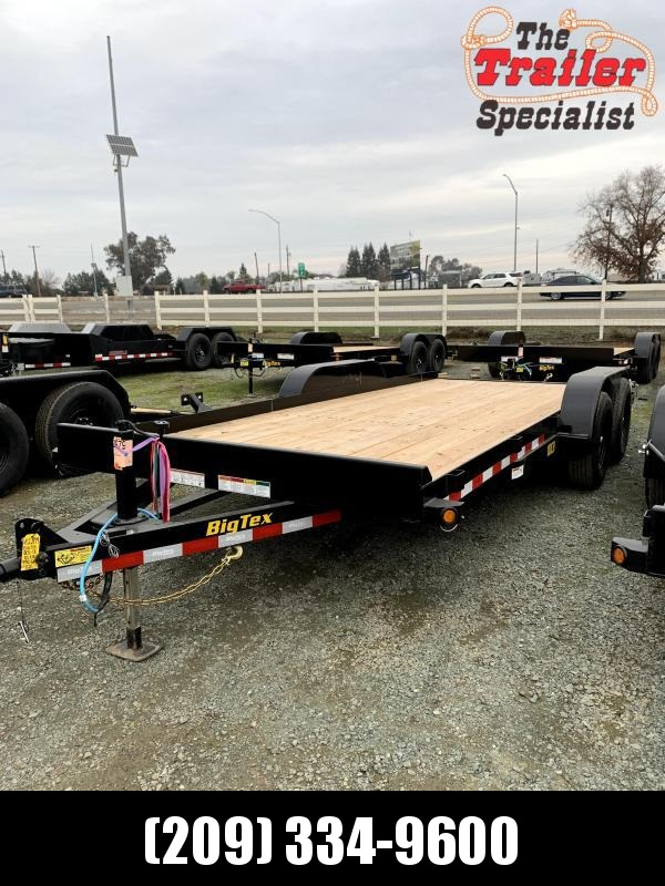 "NEW 2021 Big Tex Trailers 10CH-18 83"" x 18' 9990 GVW Car / Racing Trailer"