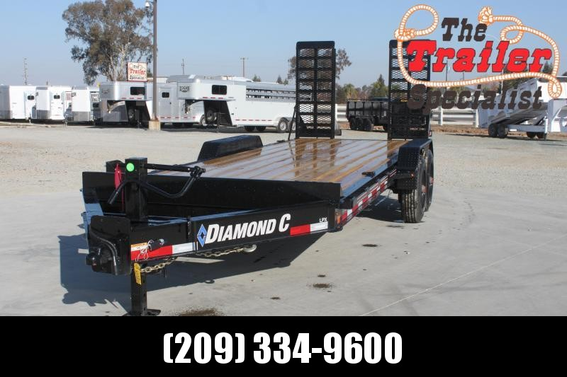 "NEW 2021 Diamond C Trailers LPX210-L 20' x 82"" 20000 lbs GVWR with 15# I-Beam Frame Equipment Trailer"
