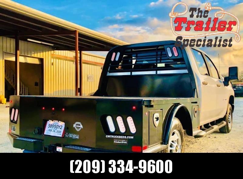 NEW 2020 CM SK 8'6/97/58/42 Truck Bed (B&W/SS FEND/CARGO ER STYLE LIG)