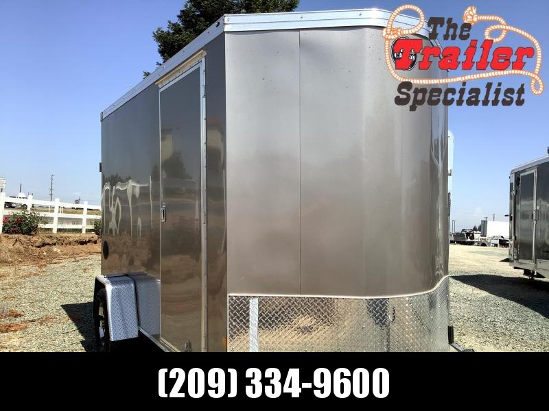 NEW 2021 Wells Cargo Road Force V-Front 7' x 12' S2 7k GVW Enclosed Cargo Trailer