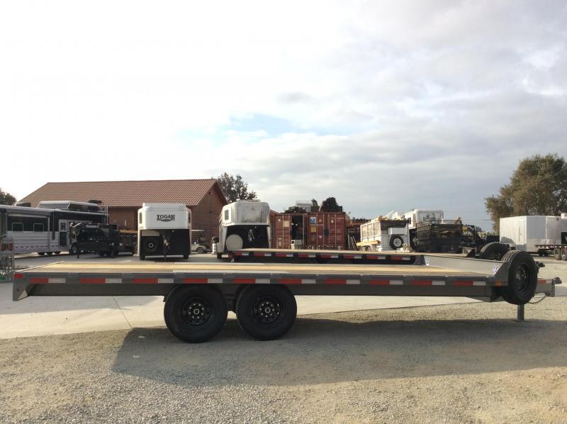 "NEW 2021 Diamond C Trailers DEC207-L 20'x102"" 14900 GVWR Equipment Trailer"