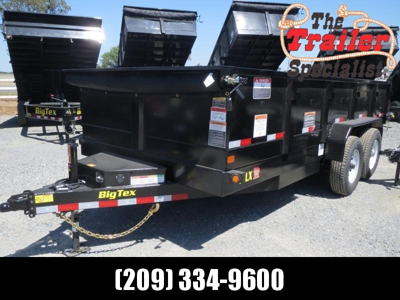 "NEW 2021 Big Tex Trailers 14LX-16 83""x16' 14000 GVWR Dump Trailer"
