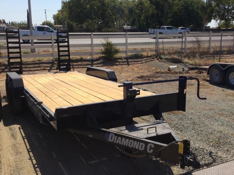 "NEW 2020 Diamond C Trailers EQT207 L 20ft x 82"" Heavy Duty Equipment Trailer"