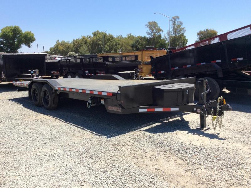 NEW 2021 Heavy Duty hydraulic tilt Midsota TBWB-22 Equipment Trailer