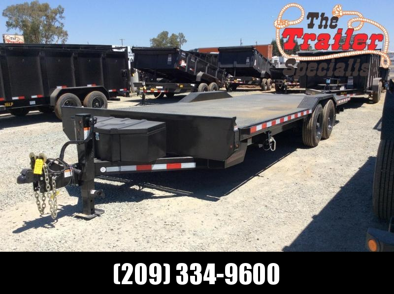 NEW 2021 Heavy Duty hydraulic tilt Midsota TBWB-22 Equipment Trailer