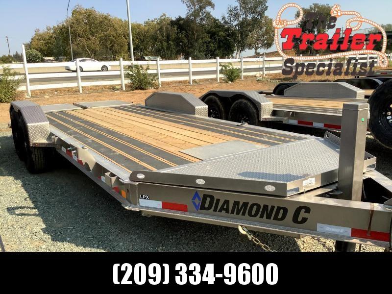 NEW 2022 Diamond C Trailers LPX 7' x 18' 14900 GVW Equipment Trailer