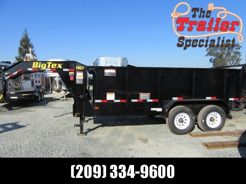 New 2021 Big Tex 14GX-14P3 Dump Trailer 7X14 14K GVW