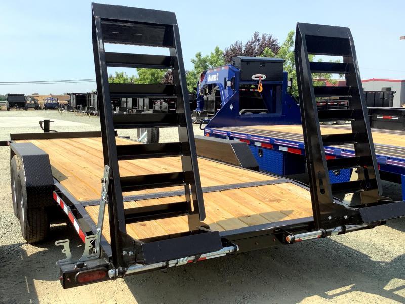 NEW 2021 Midsota NOVA ET 7 x 22' 15400 GVW Equipment Trailer