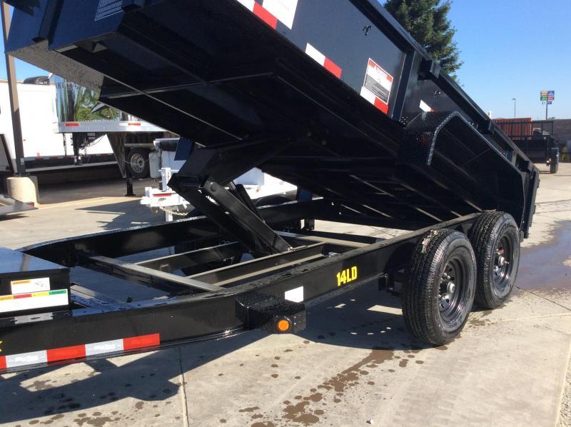 NEW 2021 Big Tex Trailers 14LD-14 Dump Trailer 7x14 14k GVW