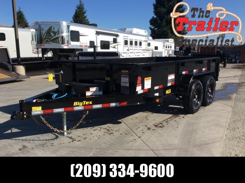 NEW 2021 Big Tex 14LD-14 Dump Trailer 7x14 14k GVW
