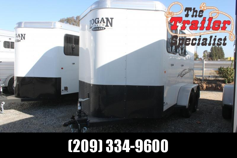 NEW 2021 Logan Coach 2H Crossfire BP Horse Trailer