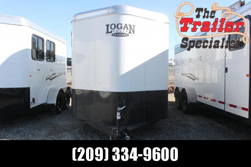 2021 Logan Coach 2H Crossfire BP Horse Trailer
