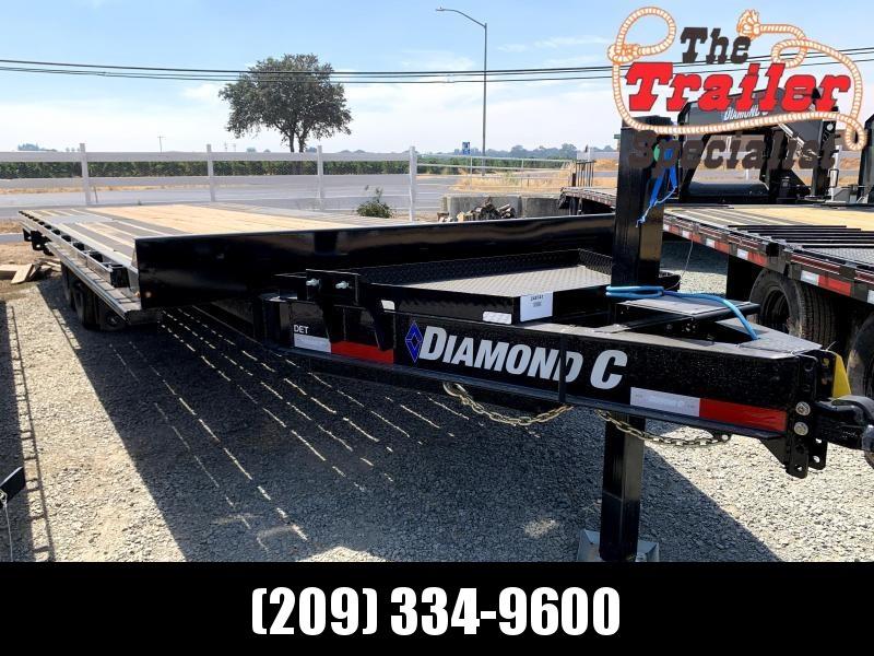 "NEW 2021 Diamond C Trailers DET207L 102"" x 24' 14900 GVW Equipment Trailer"