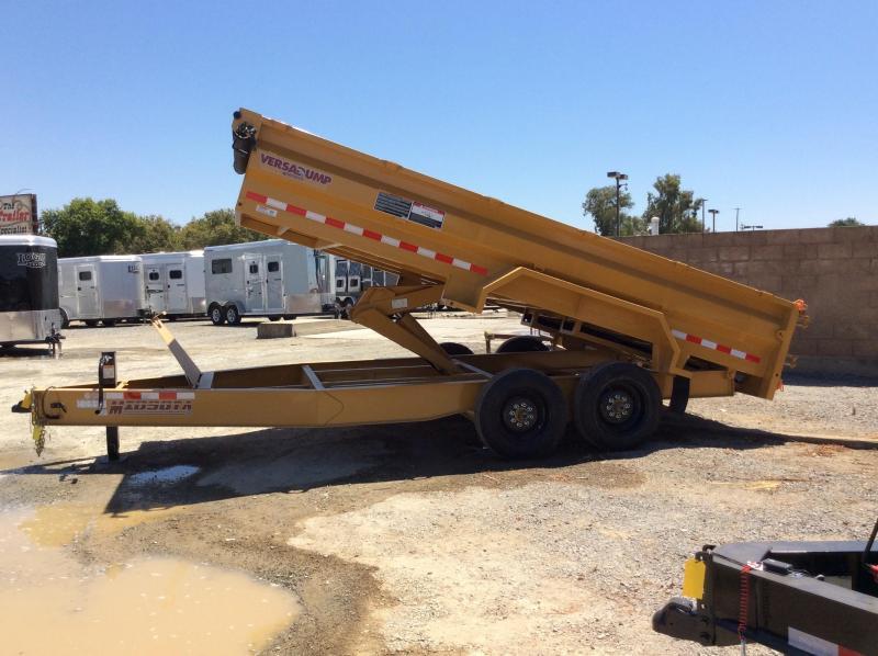 NEW 2020 Midsota HVHD-16 Dump Trailer