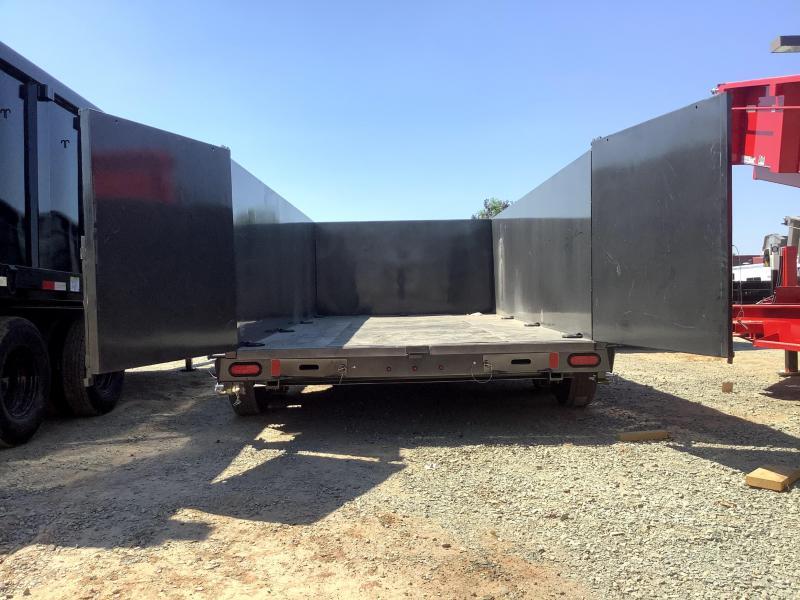 "NEW 2021 Diamond C Trailers LPD207L 82"" x 14 Dump Trailer"