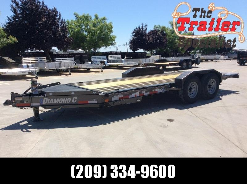 "NEW 2020 Diamond C Trailers Low Pro full deck Tilt HDT207 L18ft x 82"" Equipment Trailer"